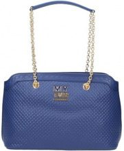 Borsa Shopping My Twin By Twin Set  7723 Borse Accessori Blu