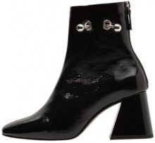 Topshop MIGHTY BOOT PATENT Stivaletti black