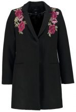 Cortefiel COAT EMBRODERY FLAP Cappotto classico black