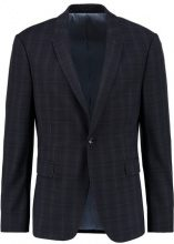 Topman CHECK ULTRA MUSCLE FIT Giacca elegante dark blue