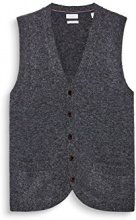ESPRIT Collection 107eo2i007, Gilet da Interno Uomo, Grigio (Dark Grey 2 021), Large