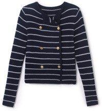 Cardigan giacca stile marinaro