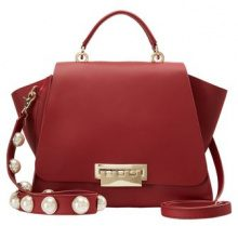 ZAC Zac Posen EARTHA TOP HANDLE SOLID Borsa a mano red