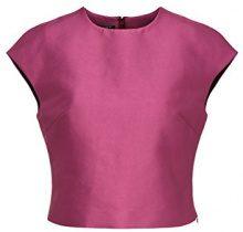 APART Fashion Glamour: Black Cherry-Blush-Pink, Tank Top Donna, Rosa (Fuchsia), 46