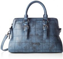Betty Barclay Zip Bag - cartella Donna, Blau (Mood Indigo), 14x23x37 cm (L x H D)