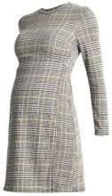 New Look Maternity POW CHECK WRAP DRESS Vestito estivo black