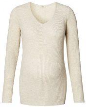 Noppies Ls Frederiek, Pullover Donna, Elfenbein (Off White Melange C024), 44