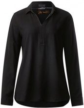 Street One Solid v-Neck Shirt Blouse, Blusa Donna, Nero (Black 10001), 40