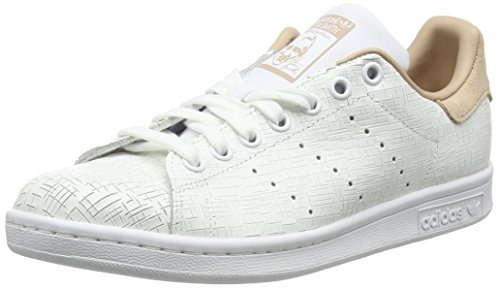 adidas stans smith donna 40 2%2F3  adidas Stan Smith W, Scarpe da Ginnastica Basse Donna, Bianco ...