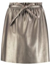 Saint Tropez METALLIC SKIRT Minigonna gold