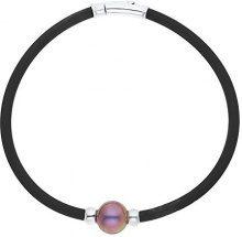 Pearls Colors &-Braccialetto in argento 925, con Perle d'acqua dolce, BRMC28-PC e Argento, cod. PC-BRMC28/20
