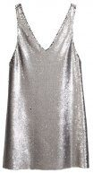 NIGHTLY - Vestito elegante - silver