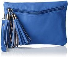 BoschaBoscha - Sacchetto Donna, blu (Blau (Blau (blueberry))), 1x17x24 cm (B x H x T)
