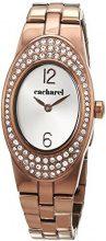 Cacharel CLD 008S-5BM - Orologio da polso Donna, Acciaio inossidabile, colore: Marrone