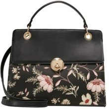 New Look MONO PRINT TOP HANDLE Borsa a mano black