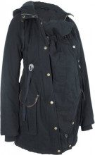 Parka pr?maman con porta-bimbo (Nero) - bpc bonprix collection
