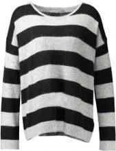 Calvin Klein Jeans SURI STRIPE Maglione black
