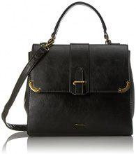 Tamaris Mette Handbag - Borsa Donna, Schwarz (Black Comb.), 17x23x29 cm (B x H T)