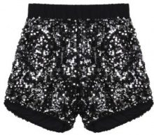 Shorts con paillettes