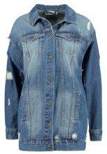 Noisy May NMANGIE JACKET  Cappotto corto medium blue denim