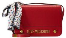 Love Moschino MOSCHINO BOW SHOULDERBAG Borsa a tracolla rosso