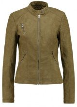 ONLY ONLSTEADY JACKET Giacca in similpelle military olive