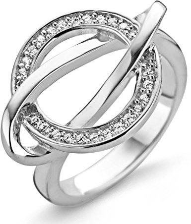 orphelia anello  Orphelia Anello per donna in argento 925 rodiato con zirconi bianchi ...