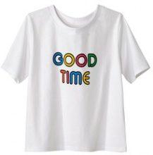 T-shirt fantasia multicolore