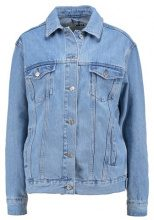 Topshop SEAM Giacca di jeans light blue