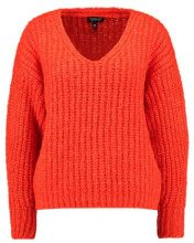 Topshop LOFTY Maglione red