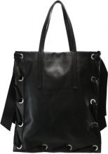 Topshop Shopping bag black