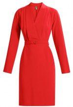 Benetton DRESS Tubino red