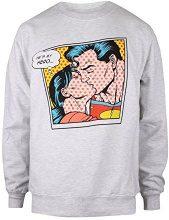 DC Comics MY Hero, Maglione Donna, Grey (Ash Ash), 42