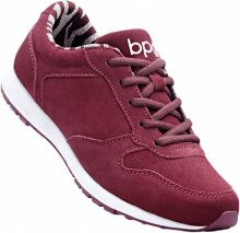 Sneaker in pelle (Rosso) - bpc bonprix collection
