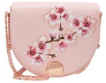 Ted Baker SUSY SOFT BLOSSOM MOON BAG Borsa a tracolla pink