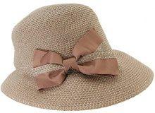 Seeberger Serie Susi, Cappelli da Sole Donna, Rosa (Sandel 0027), Taglia unica