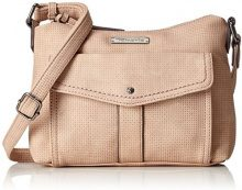 Tamaris Adriana Crossbody Bag S - Borse a tracolla Donna, Pink (Rose), 5.5x18x24 cm (B x H T)