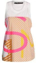 adidas by Stella McCartney ESSENTIALS STRIPE Top white/equipment pink