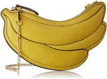 Lollipops Banana Clutch Banane - Borse a spalla Donna, Giallo (Yellow), 1x13x27 cm (W x H L)