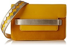 Lollipops Bcity Shoulder - Borse a spalla Donna, Giallo (Yellow), 6x19x26 cm (W x H L)
