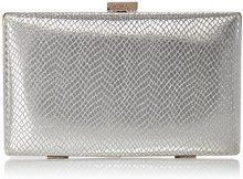 Dune Bollero - Pochette da giorno Donna, Silver, 3x11.5x20 cm (W x H L)