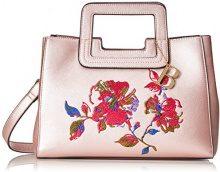 Bulaggi Metsu Handbag - Borse a secchiello Donna, Pink (Pastel Rose), 11x22x29 cm (B x H T)