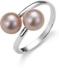 Adriana dreambase-anello 925 argento rodiato Gelato acqua dolce-acqua dolce taglia 52 (16,6) Regolabile - AGR2 - Gr, 52