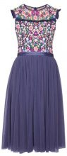 Needle & Thread LAZY DAISY BODICE DRESS Vestito elegante washed indigo