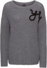 Pullover YES (Grigio) - BODYFLIRT