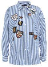 Polo Ralph Lauren POPLIN STRIPES Camicia royal blue