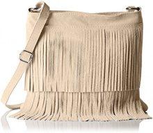 Bags4Less TIPSI, Borsa a tracolla Donna, Beige (Beige (Sand Sand)), 10x30x30 cm (B x H x T)