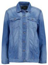 ONLY ONLEVA OVERSIZED Giacca di jeans dark blue denim