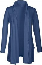 Cardigan in maglina (Blu) - BODYFLIRT
