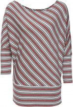 Maglia con manica a kimono (Rosso) - BODYFLIRT